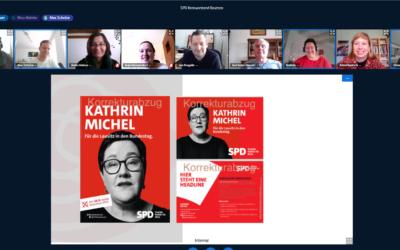 Kreisvorstand startet am Vorabend des Sonderparteitages der SPD mit Klausur in den Wahlkampf