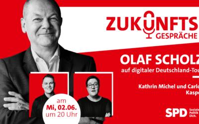 Zukunftsgespräch – mit Kanzlerkandidat Olaf Scholz