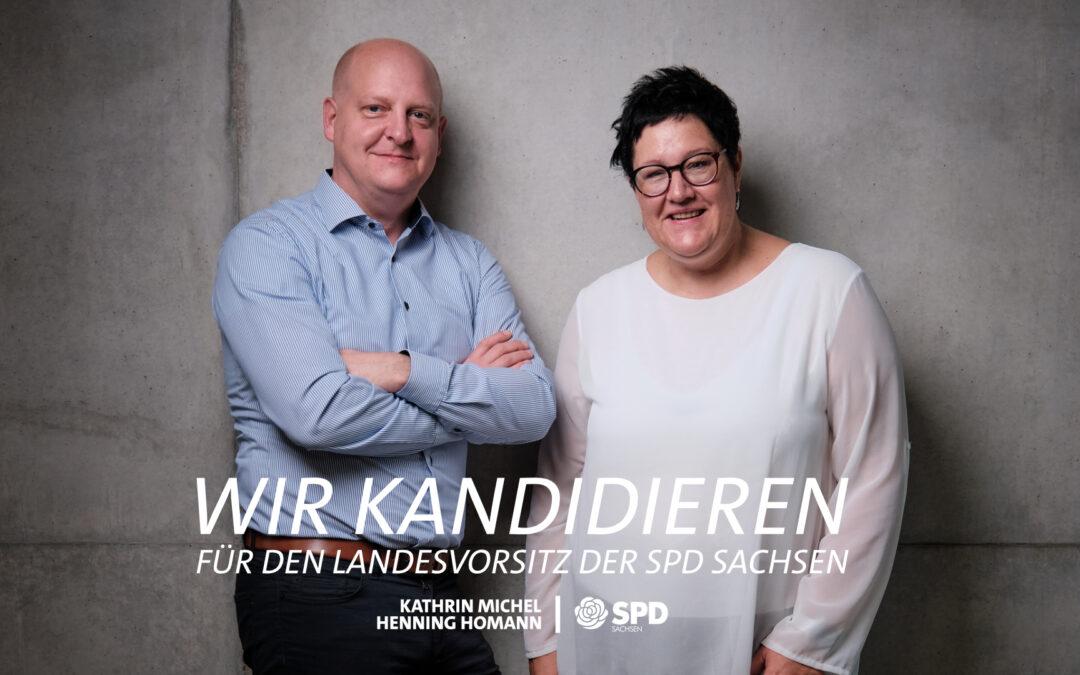 Kandidatur für den Landesvorsitz der SPD